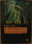 Quick Sliver alter by Zoken