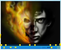 How to draw Nicolas Cage from Ghost Rider Part 3 by SketchHeroes