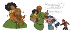 Ohmid and Kids by GreenOverGreen