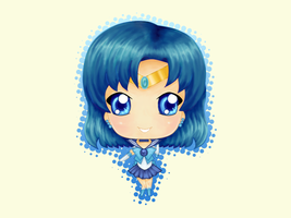 Sailor Mercury by AutumnEmbers