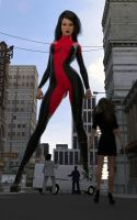 Giantess Vigilante by mike973