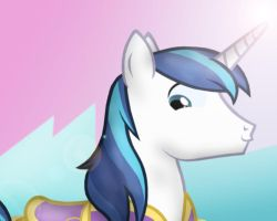 Shining Armor Cute Face by Navy-x