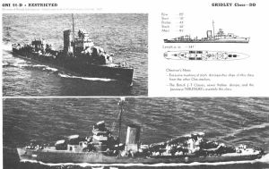 Technical Drawings: USS Gridley by bwan69