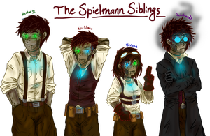 The Spielmann Siblings ~ {{QUESTIONS OPEN}} by Ask-TheDrakon