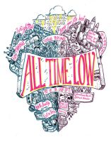 All Time Low t-shirt design by MIRRORMASTER