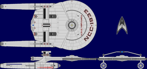 USS Miranda AU Multi-View by captshade