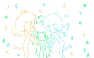 Lee,Che And Ree by TheJokersCards