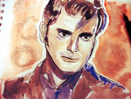 The tenth Doctor by Irhi-Leth