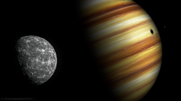 Gas Giant by Starfall00