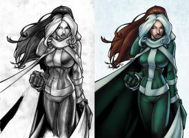 Bachalo's Rogue by thekidKaos
