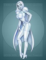 Emma Frost White Queen 7 by GOODGIRLART