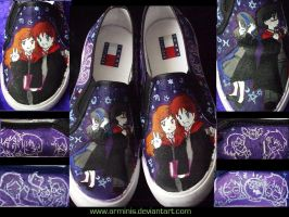 HP Custom Shoes by arminis