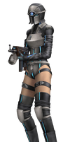 Deep Ground Soldier 3 PNG by DarkMagician1211