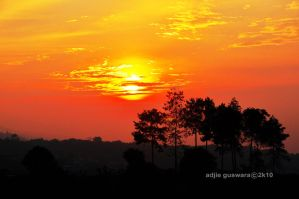 new year sunrise.. by adjieguswara-art