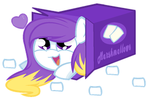 DOLL: Did somepony order marshmallows? by XteySockies