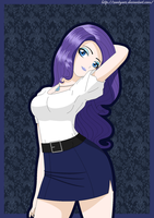 Rarity Human by ZantyARZ