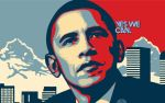 GO BARACK by cybaBABE