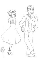 GwL: Best Man and Maid of Honor by Divine-Nataku