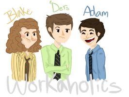 Workaholics by Lenmccarristarr