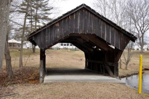 Covered Bridge Stock 4 by FairieGoodMother