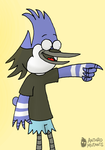 My idea of Mordecai by anthromutants