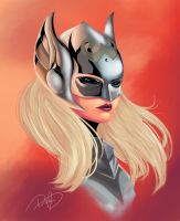 Avengers Now: Female Thor by danps