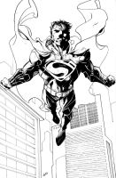 Superman by benjonesart