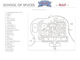 School of Splices Map by TheAmazingElizabeth