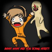 Pewdiepie: SCP Containment Breach by roxyjana