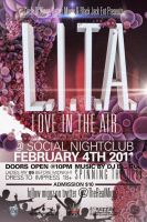 Love is In the Air Flyer by V1sualPoetry