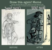 MGS - before+after meme by FerioWind