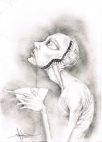 Consumed by her desire to be beautiful by ShawnCoss