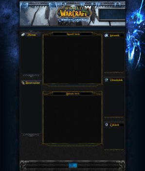 WoW: WotLK fansite concept by Darc1n