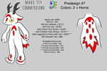 PreDesign Costume/Fursuit #7 by mars714