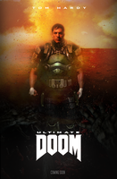 ''Ultimate Doom'' movie poster (fan made) by NiteOwl94