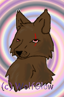 Brown Wolf by WolfGlow
