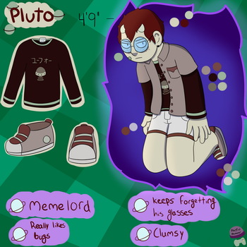 Pluto Reference sheet! by HDDoesGaming