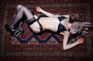 Ass On Rug by TheFoto