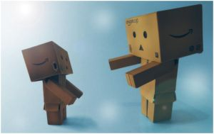 Danbo's got a little friend by frestro79