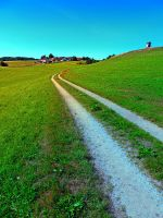 Lonely trail along the border by patrickjobst