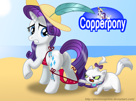 Coppertone Rarity by AleximusPrime