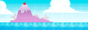 Candy Island by mapacheanepicstory