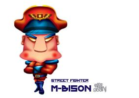 M-Bison by Seanleedesign