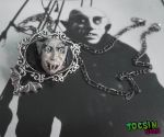 Nosferatu vampire necklace by TocsinDesigns