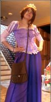 Rapunzel Cosplay WIP - 90 percent done by SakiRee