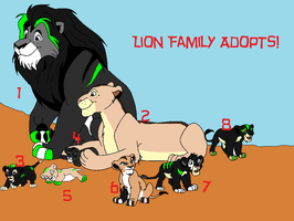 Family Adopts! by BlackWolf1112-ADOPTS