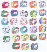 Puffle adopts - special by MaikaFranklinCLW3