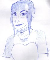 Old traditional stuff: Skin head lady by mysticalbadger