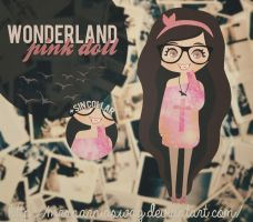 WonderlandPink doll. by MrsNarniaSwag