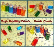 Magic Bubbling Potion Charms by YellerCrakka